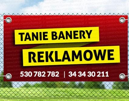 tanie banery reklamowe w Częstochowie